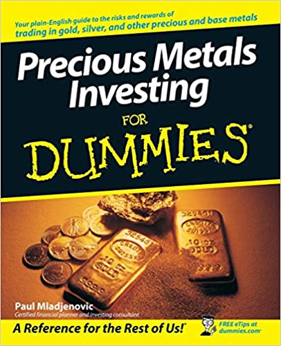 precious metals investing for dummies book cover